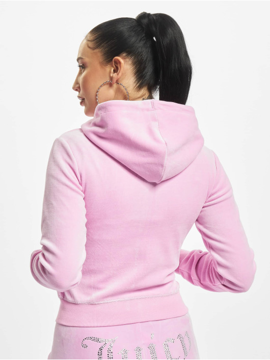 Juicy Couture Zip Hoodie Robertson pink
