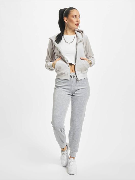 Juicy Couture Zip Hoodie Robertson szary