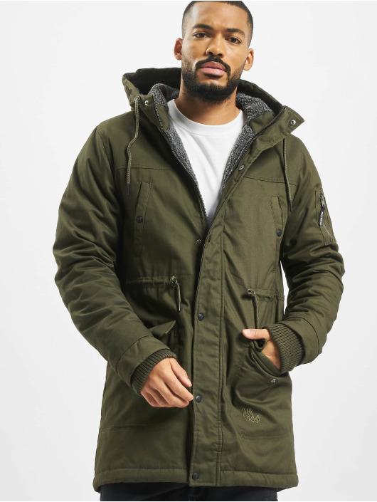 Just Rhyse Зимняя куртка Columbus оливковый