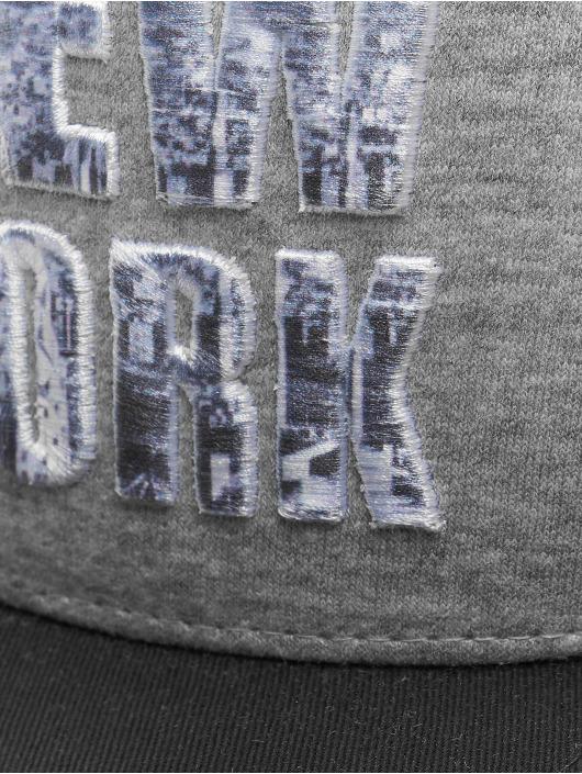 Just Rhyse Кепка с застёжкой New York Style серый