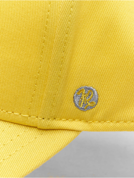 Just Rhyse 5 Panel Caps Spring Hill žltá