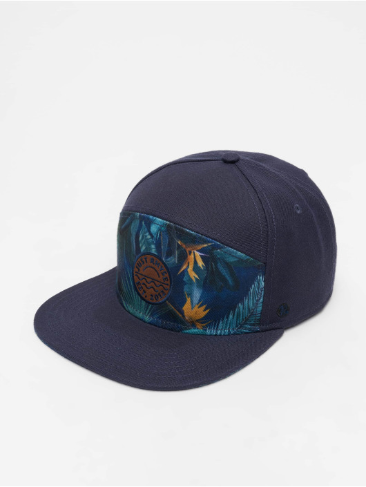 Just Rhyse 5 Panel Caps Delray Beach blå