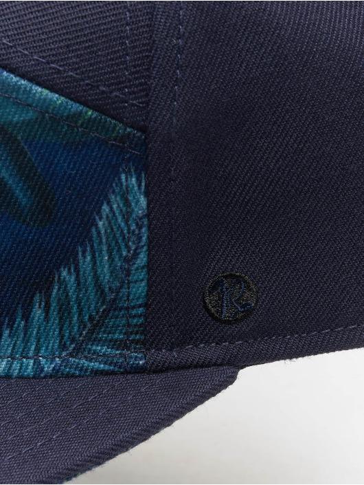 Just Rhyse 5 Panel Caps Delray Beach niebieski