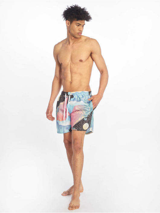 Just Rhyse Badeshorts Oriole Beach colored