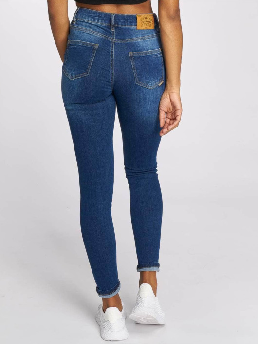 angenehmes Gefühl 50% Preis unschlagbarer Preis Just Rhyse Buttercup High Waist Skinny Jeans Mid Blue