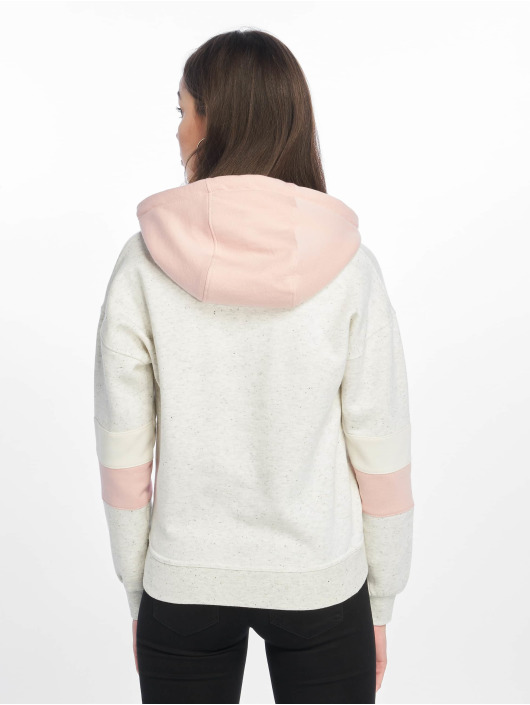 Just Rhyse Hoodie Hollow Hills white