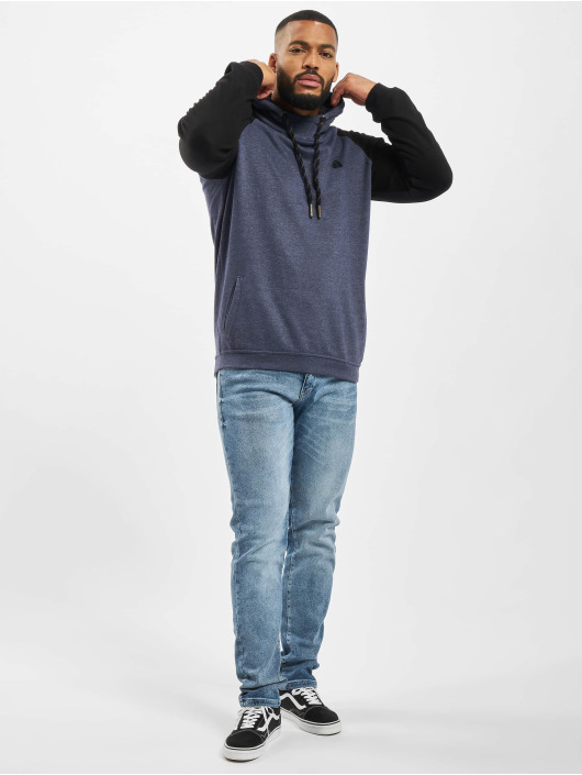 Just Rhyse Hoody Mr. Raglan blau