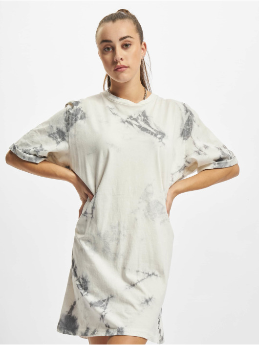 Just Rhyse Kleid Buzios Tie Dye Oversized weiß