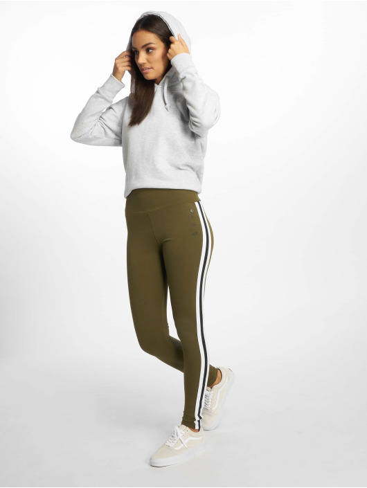 Just Rhyse Leggings/Treggings Villamontes oliwkowy