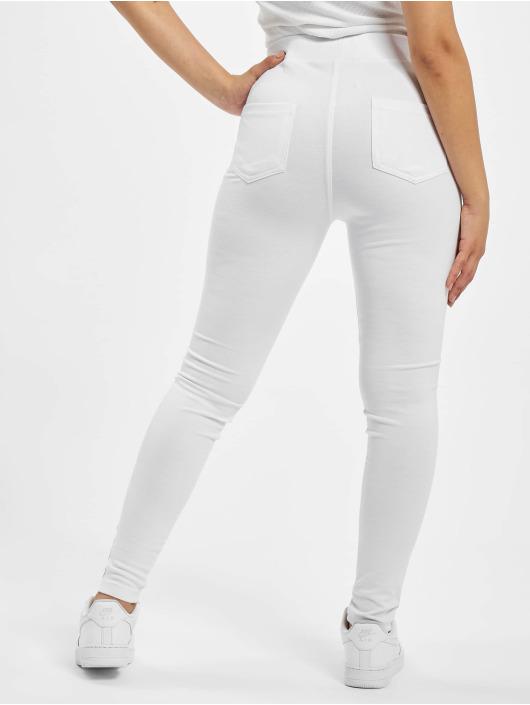 Just Rhyse Leggings/Treggings La Cruz white