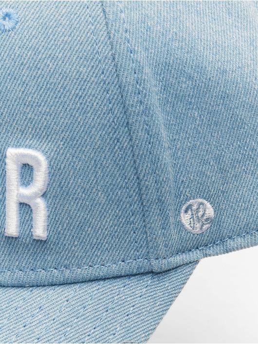 Just Rhyse Snapback Cap Palatka Baseball Shape blau