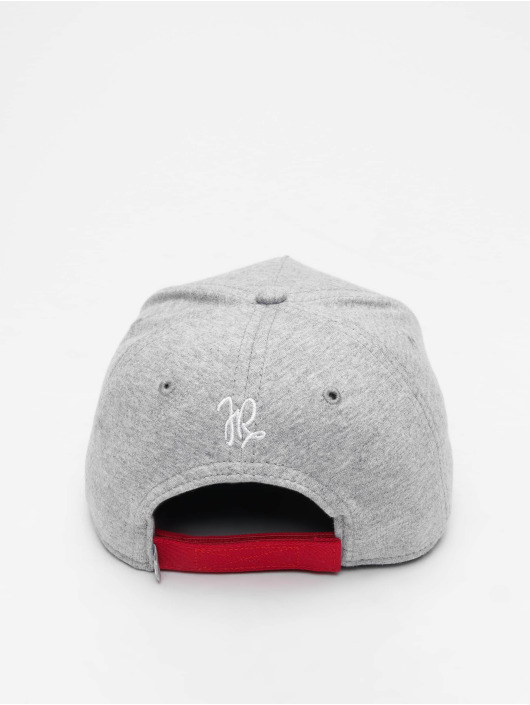 Just Rhyse Snapback Cap Key Largo grau