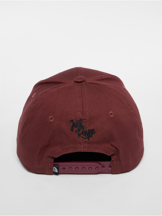 Just Rhyse Snapback Cap Tiquina red