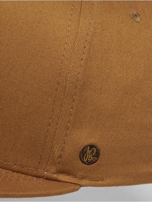 Just Rhyse Snapback Caps Coripata brazowy
