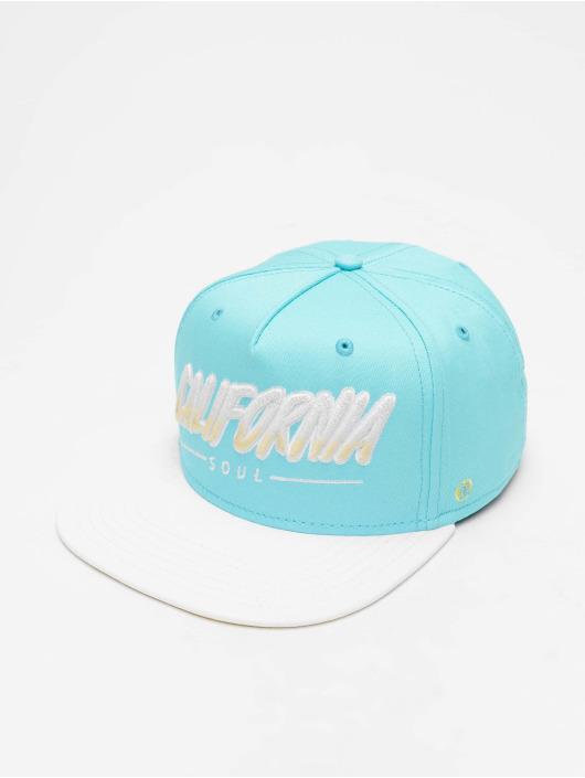 Just Rhyse Snapback Caps Santa Monica niebieski