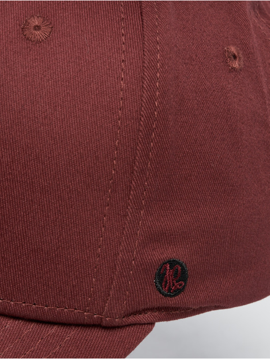 Just Rhyse Snapback Caps Tiquina red