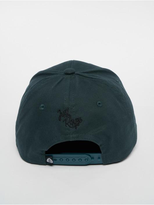 Just Rhyse Snapback Caps Tiquina zielony