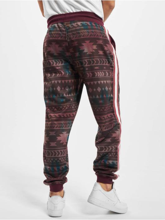 Just Rhyse Spodnie do joggingu Pocosol czerwony