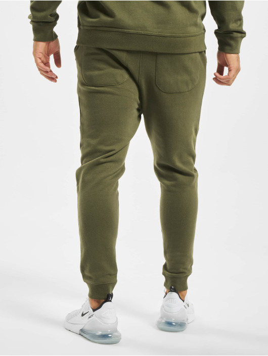 Just Rhyse Spodnie do joggingu Rainrock oliwkowy