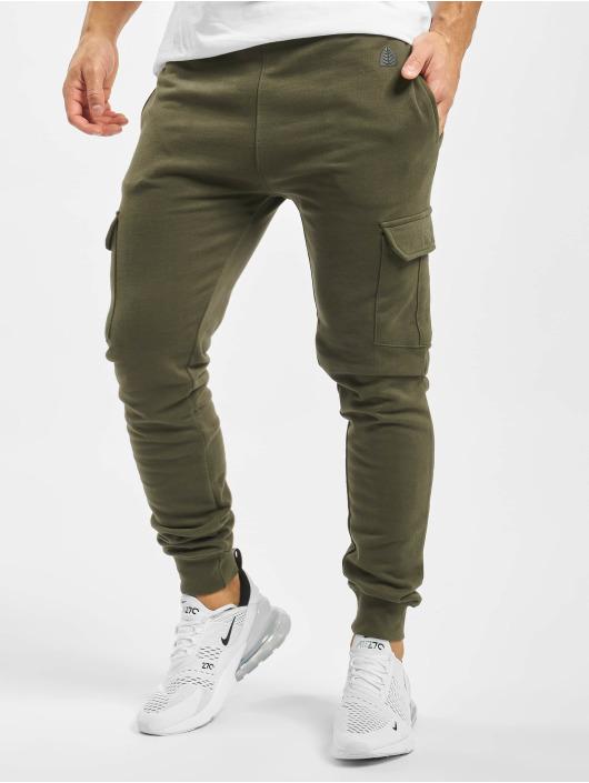 Just Rhyse Spodnie do joggingu Huaraz oliwkowy