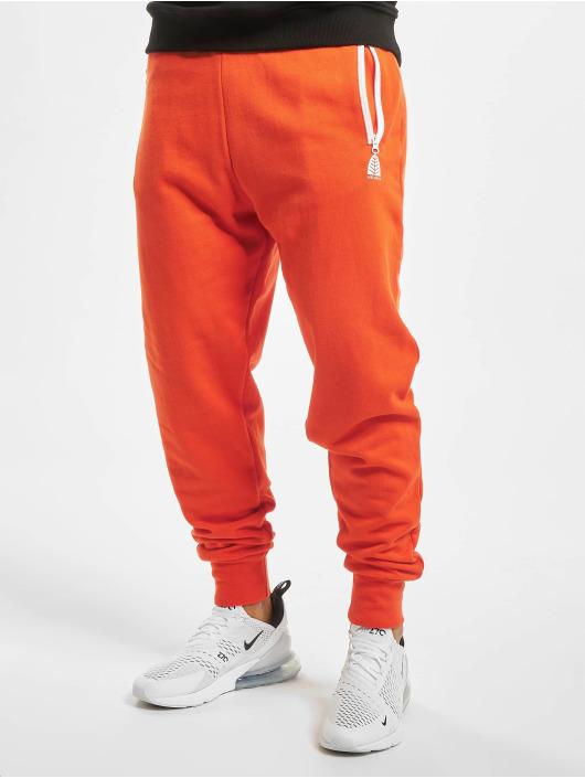 Just Rhyse Spodnie do joggingu Momo pomaranczowy