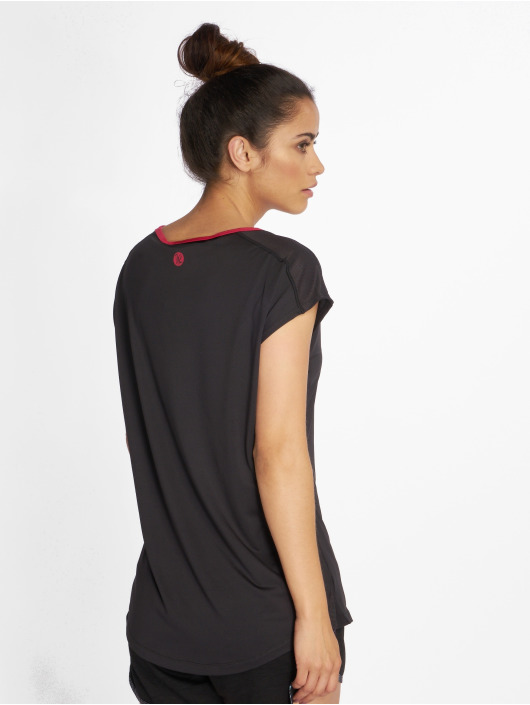 Just Rhyse Sport Shirts Mataura Active zwart