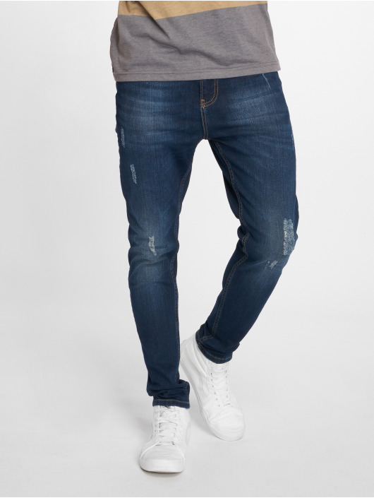 Just Rhyse Straight fit jeans Luke blauw