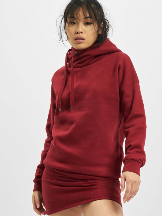 Just Rhyse Sukienki Cross Lake Hoody czerwony