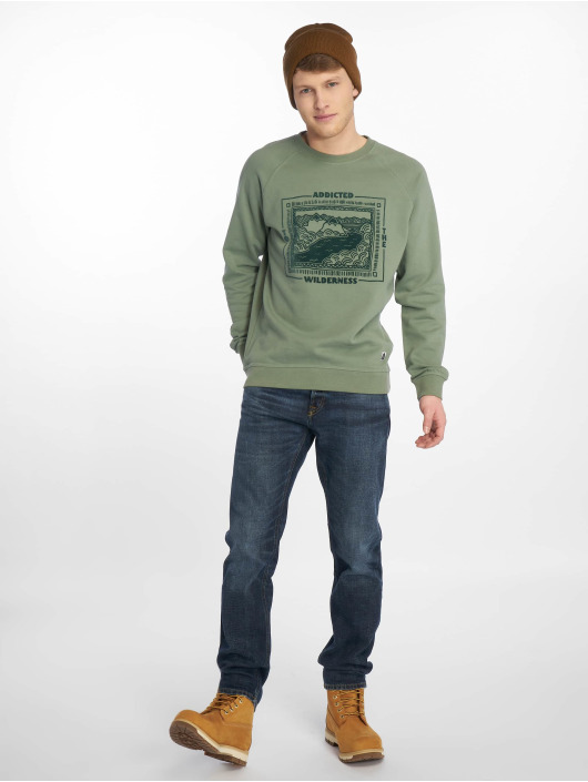 Just Rhyse Swetry Coripata zielony