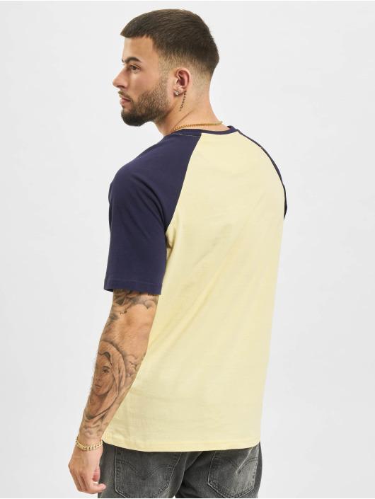 Just Rhyse T-paidat Albertina Raglan keltainen