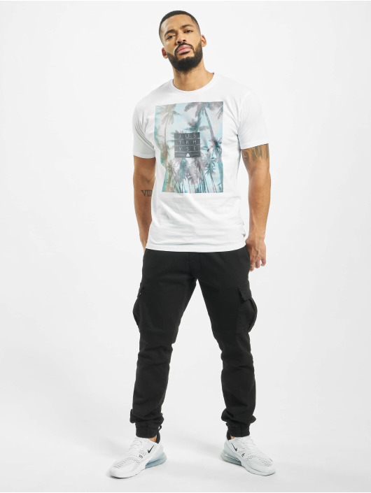 Just Rhyse T-shirt San Mateo bianco