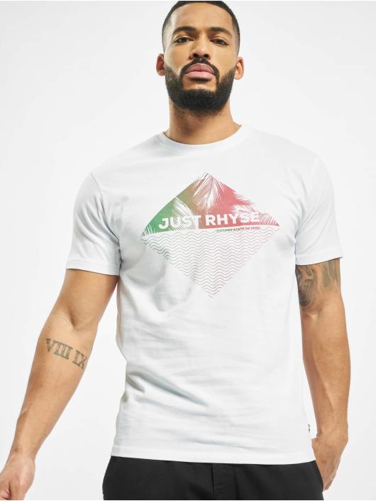 Just Rhyse T-Shirt Coyolar blanc
