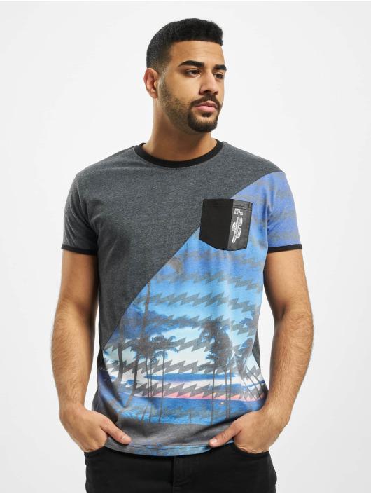 Just Rhyse T-Shirt Palm Coast blau