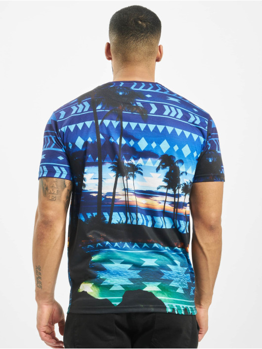 Just Rhyse T-Shirt Palm Coast blau