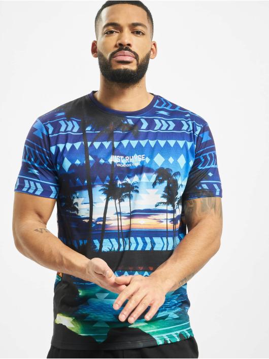 Just Rhyse T-Shirt Palm Coast bleu