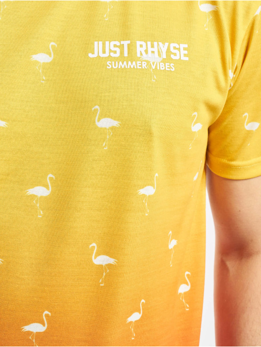 Just Rhyse T-Shirt Bellview gelb