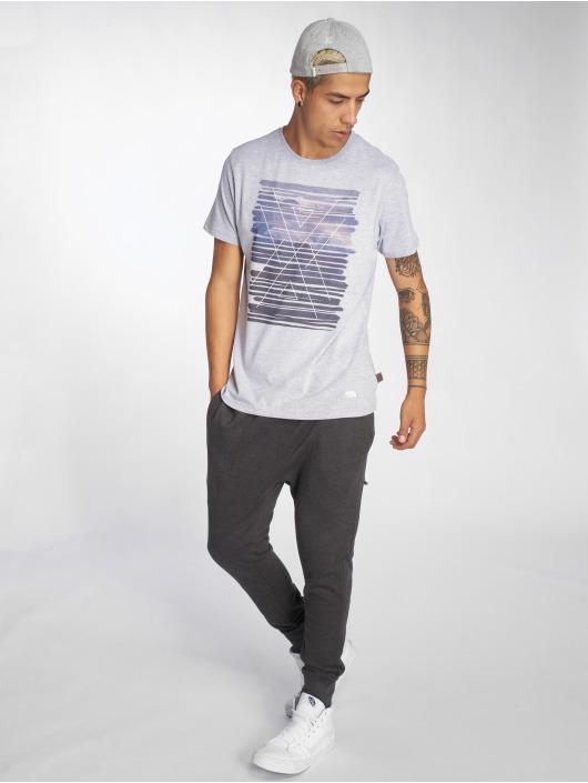 Just Rhyse T-Shirt Icy Bay grau