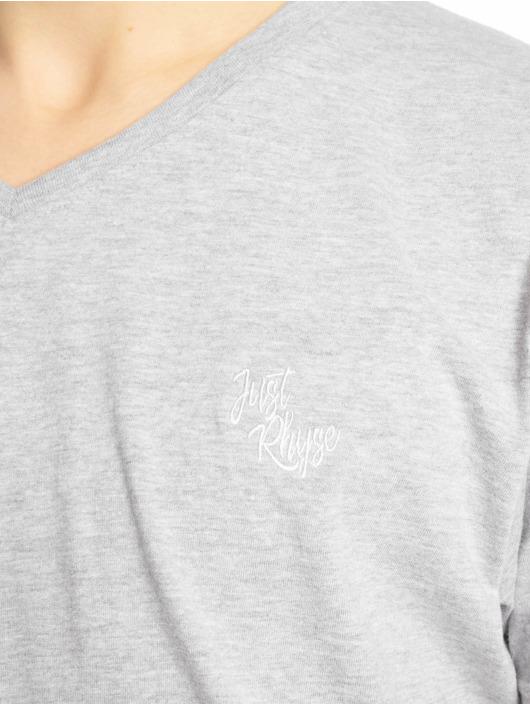 Just Rhyse T-Shirt Alachua grau