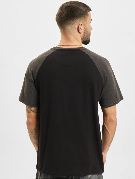 Just Rhyse T-Shirt Albertina Raglan schwarz