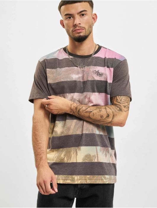 Just Rhyse T-Shirt Canoa schwarz