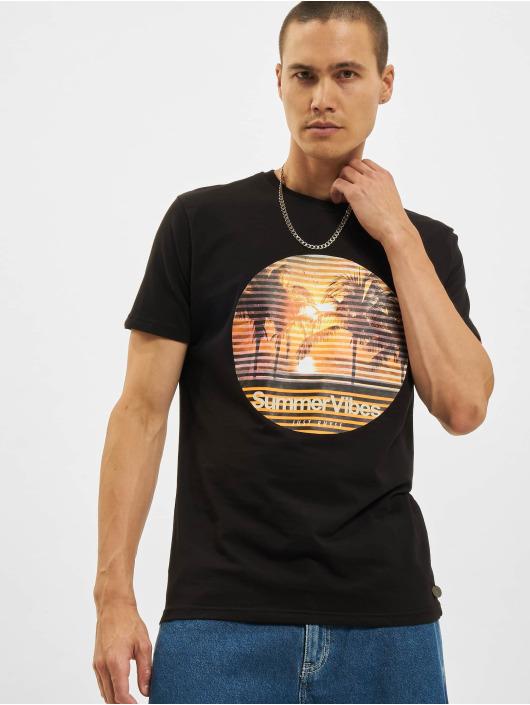 Just Rhyse T-Shirt Rafis schwarz