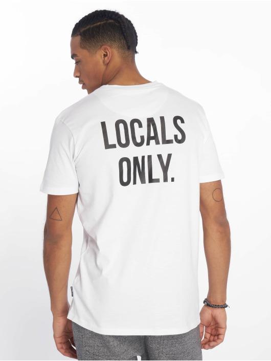 Just Rhyse T-Shirt Beverly Hills weiß