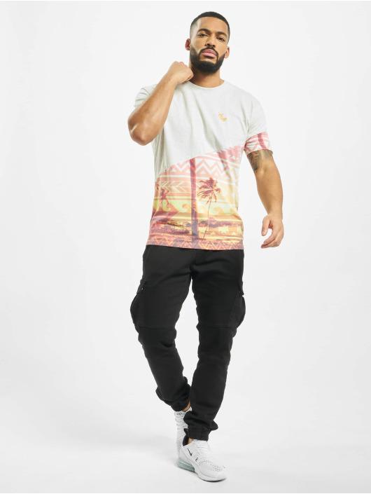 Just Rhyse T-Shirt Praia de Luz weiß