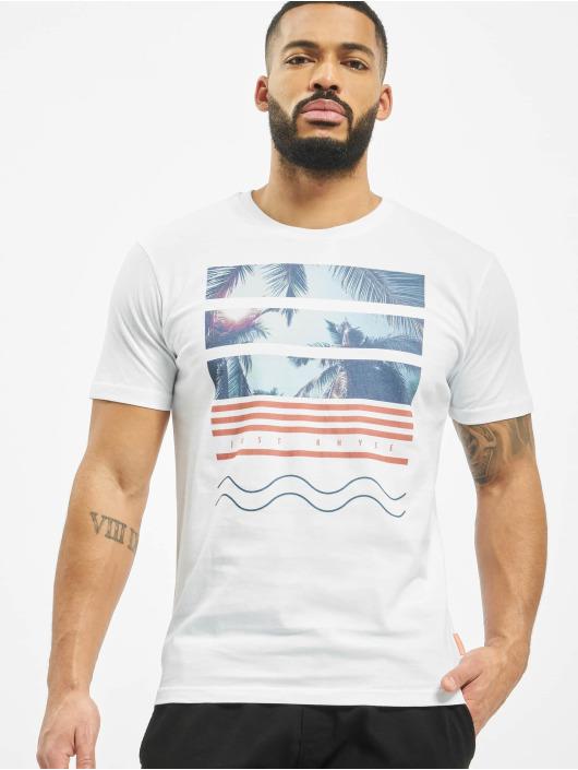 Just Rhyse T-Shirt Monteverde weiß