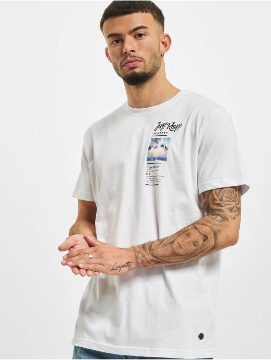 Just Rhyse T-Shirt Zoar weiß