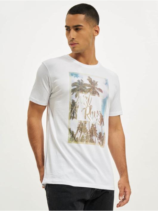Just Rhyse T-Shirt Palmeira weiß
