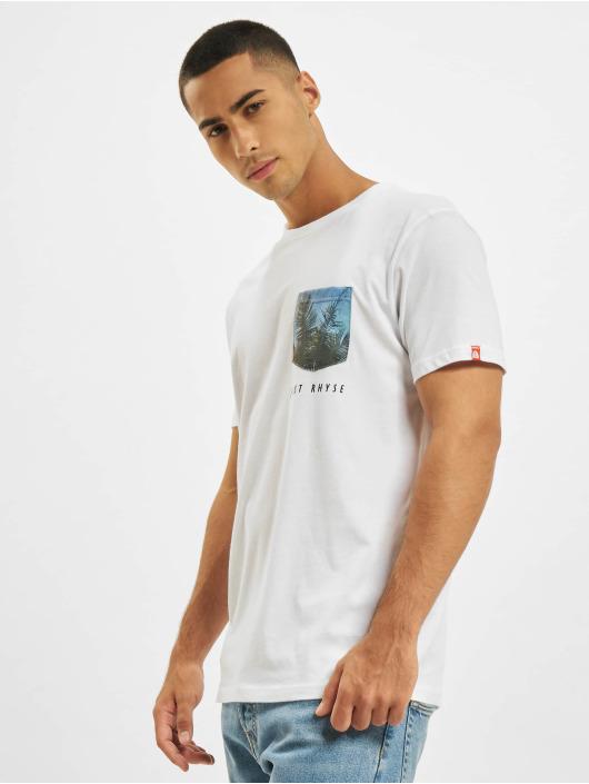 Just Rhyse T-Shirt Areca weiß