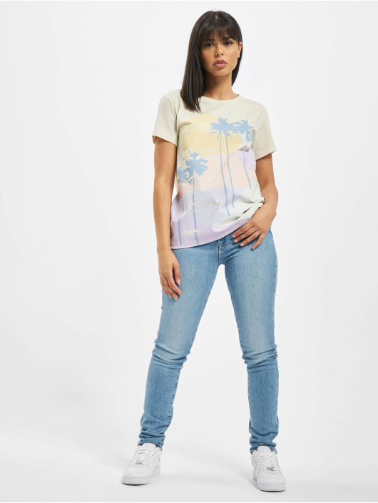 Just Rhyse T-Shirt Isla Calero white