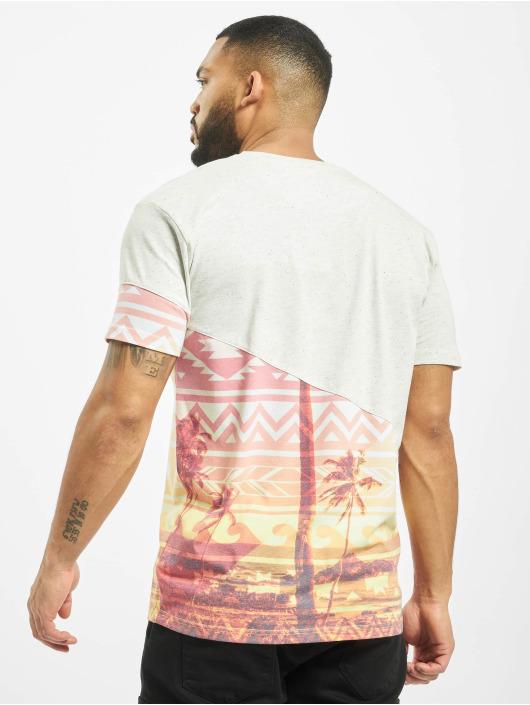 Just Rhyse t-shirt Praia de Luz wit