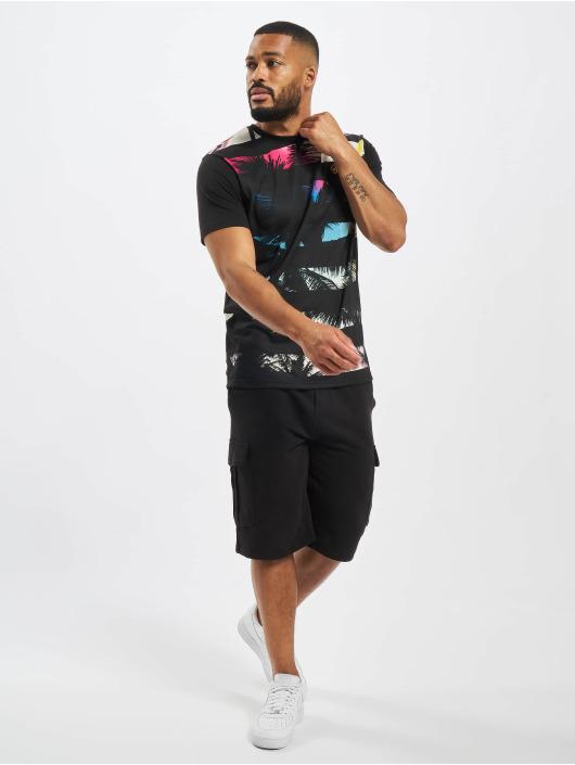 Just Rhyse t-shirt Beach II zwart
